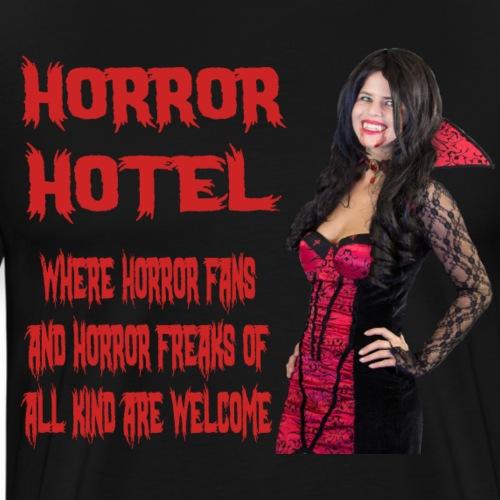 Horror Hotel - Tagline - Men's Premium T-Shirt