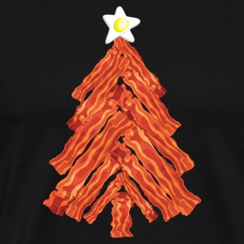 Funny Bacon and Egg Christmas Tree