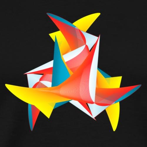 Funky Bird of Paradise - Men's Premium T-Shirt