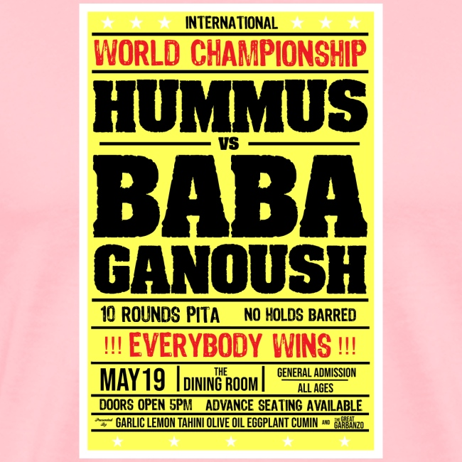 Hummus vs Baba Ganoush