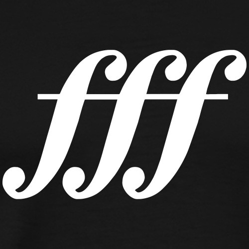 fff - fortississimo - Men's Premium T-Shirt