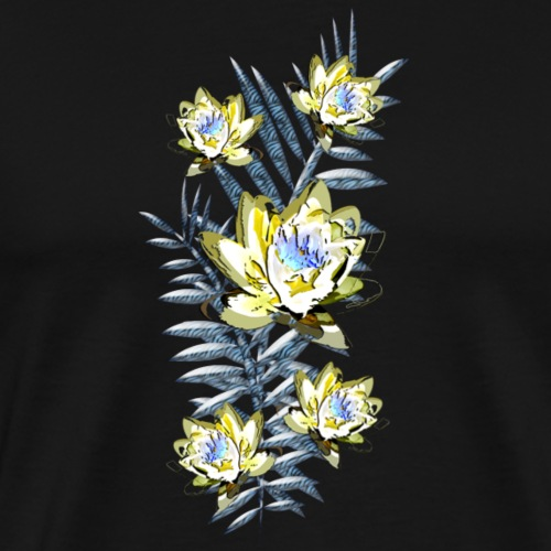 Lotus Zebra Fern - Men's Premium T-Shirt
