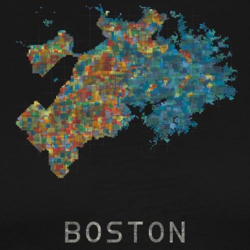 boston water - Men's Premium T-Shirt