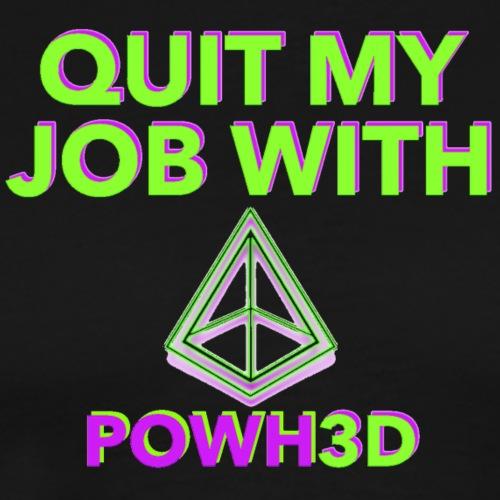 Quit with P3D - Men's Premium T-Shirt