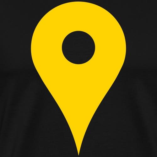 Map Pin - Men's Premium T-Shirt
