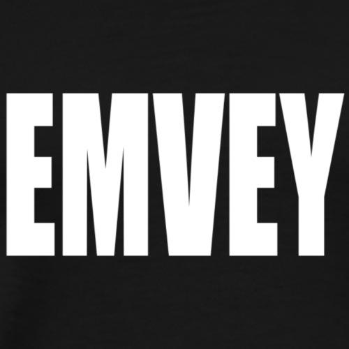 EMVEY - White Emvey - Men's Premium T-Shirt