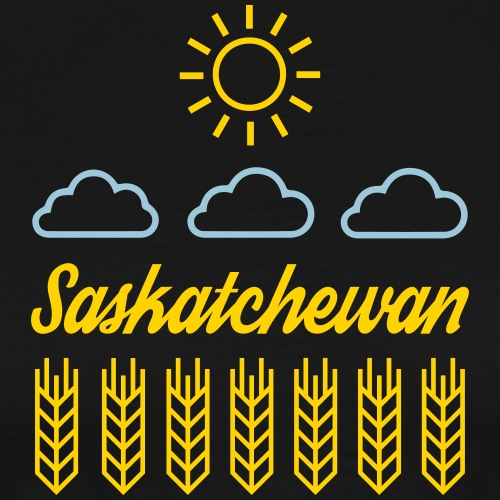 Saskatchewan! - Men's Premium T-Shirt