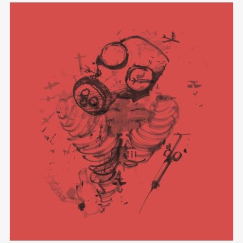 Danger Original Colour Scheme - Men's Premium T-Shirt