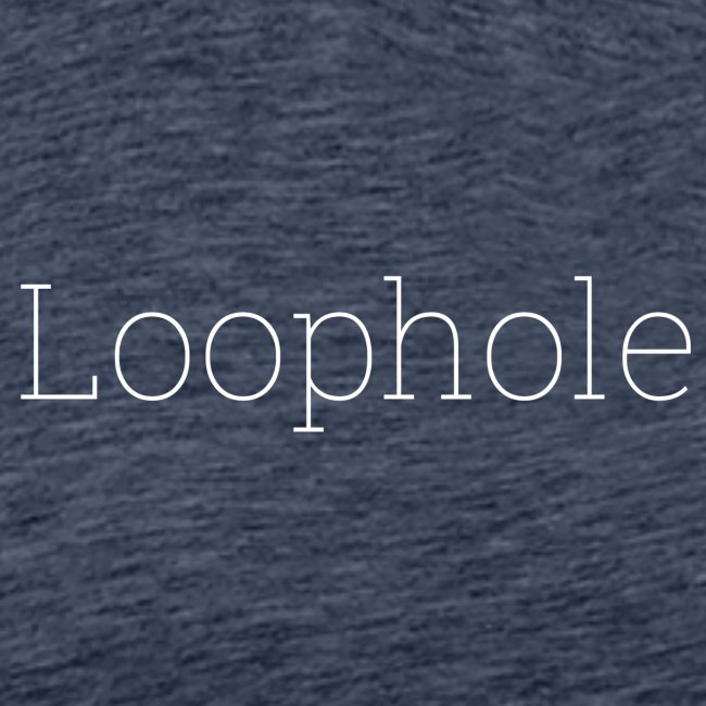 """Loophole"" Abstract Design."