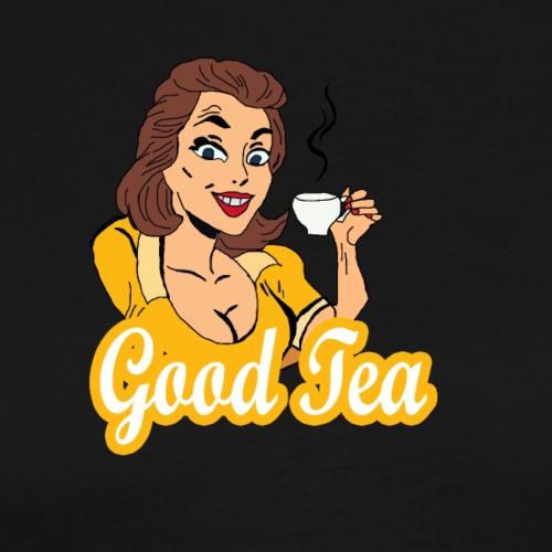 good tea - Men's Premium T-Shirt