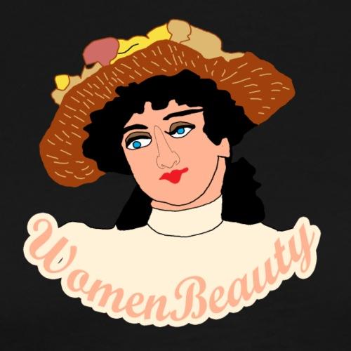 women beauty - Men's Premium T-Shirt