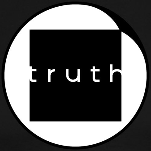 Truth in Black and White - Men's Premium T-Shirt
