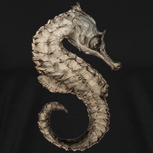 seahorse sea horse - Men's Premium T-Shirt