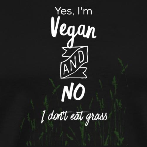 Vegan Design - Men's Premium T-Shirt