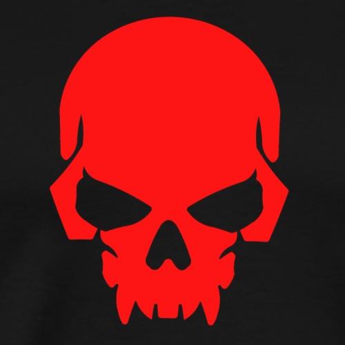 The Red Skull - Men's Premium T-Shirt