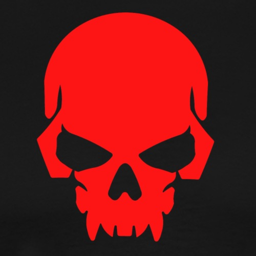 The Red Skull - Men's Premium T-Shirt