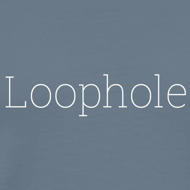 """""""Loophole"""" Abstract Design."""
