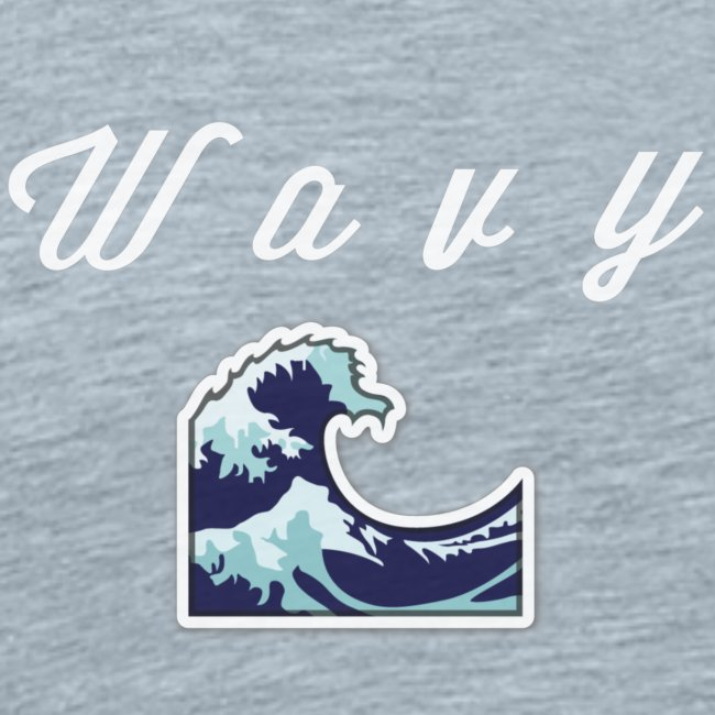 """Wavy"" Abstract Design"