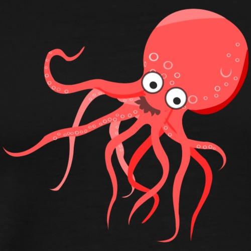 Cute Octopus - Men's Premium T-Shirt