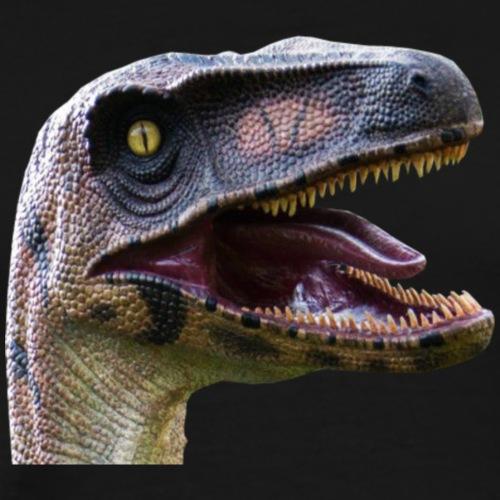 velociraptor head - Men's Premium T-Shirt