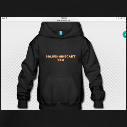 The Golden Minecart official sweatshirt - Men's Premium T-Shirt