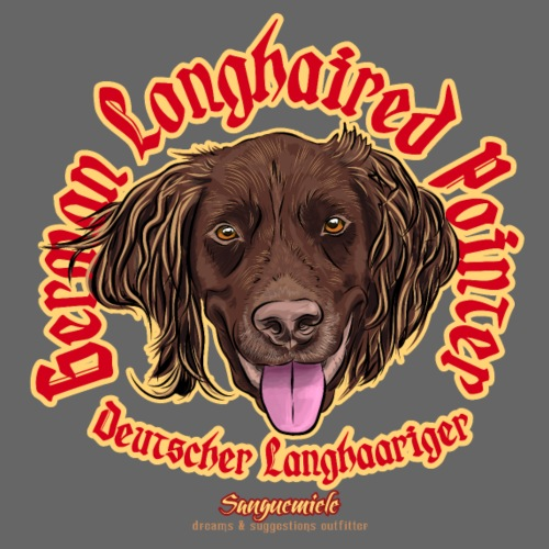 german longhaired pointer - Men's Premium T-Shirt