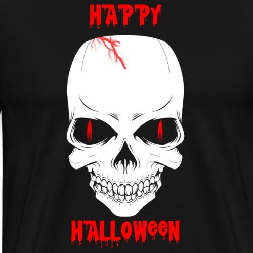 Halloween Skull - Men's Premium T-Shirt