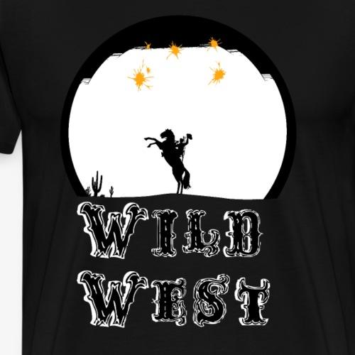 Wild West - Men's Premium T-Shirt