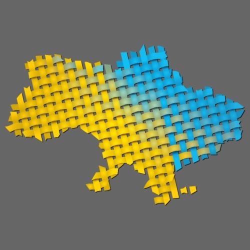 Woven Ukraine - Men's Premium T-Shirt