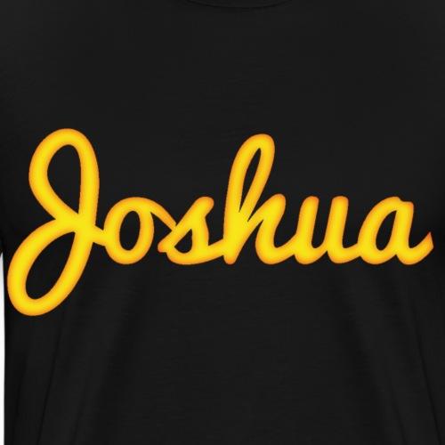 Joshua in Gold - Men's Premium T-Shirt