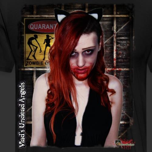 Live Undead Angels: Catty Zombie Katerina 2 - Men's Premium T-Shirt