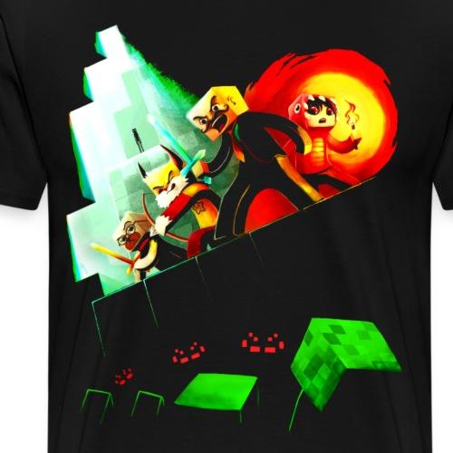Blocky Peril Women's T-Shirts - Men's Premium T-Shirt
