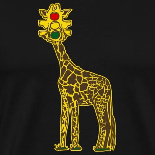 Giraffic Light - Men's Premium T-Shirt