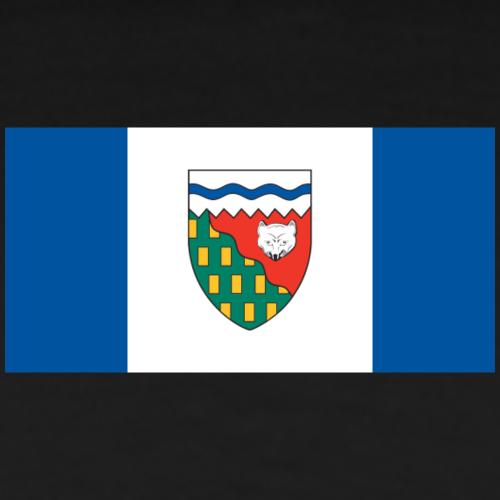 Flag of the Northwest Territories - Men's Premium T-Shirt