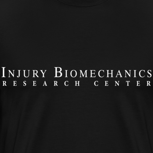 IBRC White Text with Fighting Skeleton on Back. - Men's Premium T-Shirt