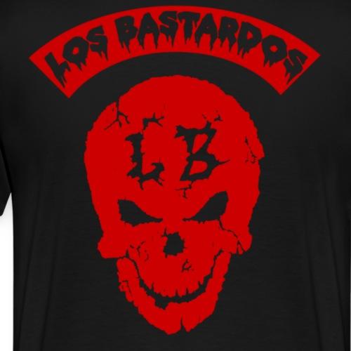 LBSKULLRED - Men's Premium T-Shirt