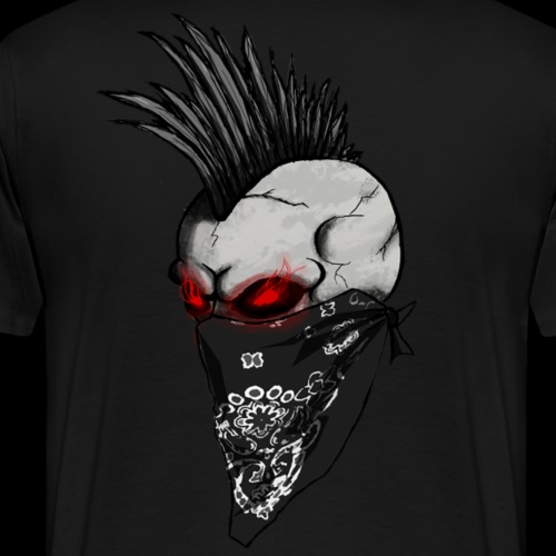 Infernal Punks Outlaws logo - Men's Premium T-Shirt