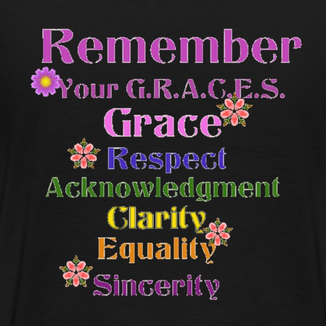 Remember Your GRACES