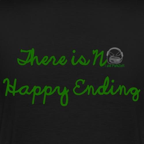 There is no happy ending - Men's Premium T-Shirt