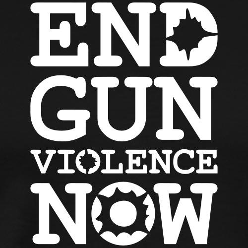 End Gun Violence Now - Men's Premium T-Shirt