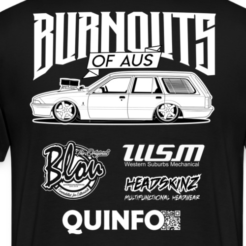 Burnouts Of Aus - Men's Premium T-Shirt