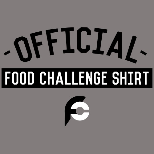 Official Food Challenge Shirt 1 - Men's Premium T-Shirt