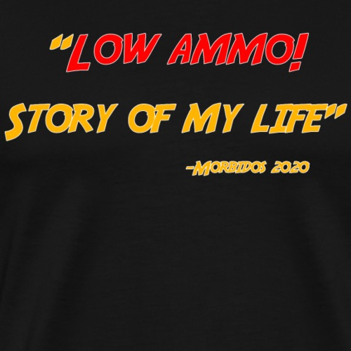 Logoed back with low ammo front - Men's Premium T-Shirt