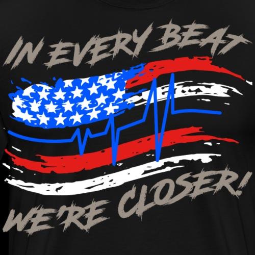 #TranceFamily Got Your Six! - Men's Premium T-Shirt