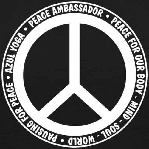 Pausing for Peace 2White - Men's Premium T-Shirt