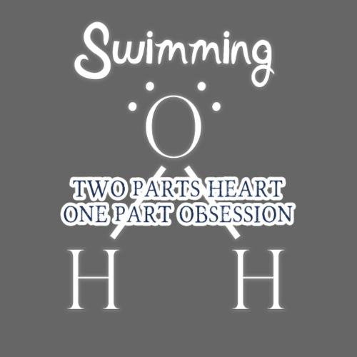 Two parts Heart One Part Obsession - Men's Premium T-Shirt