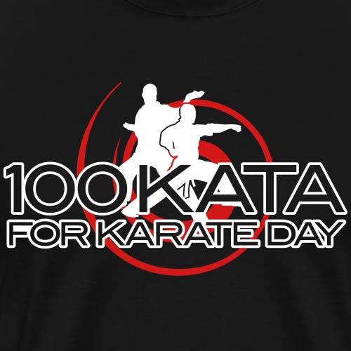 100 Kata for Karate Day classic - Men's Premium T-Shirt