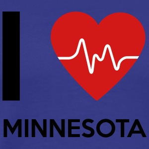 I Love Minnesota - Men's Premium T-Shirt