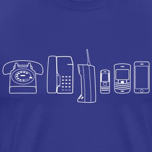 Evolution of Phone - Men's Premium T-Shirt