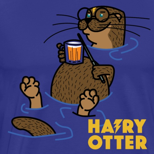 Hairy Otter - Men's Premium T-Shirt